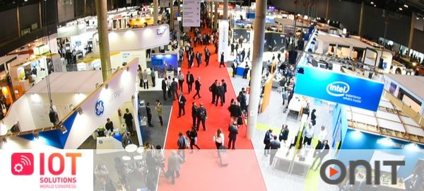 Onit speaker all'IoT Solutions World Congress, la più grande fiera mondiale del settore