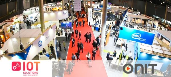 Onit speaker at the IoT Solutions World Congress, the world's largest event on business intelligence
